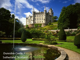 Dunrobin Castle named